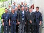 Vertreter der Polizeidirektion Friedrichshafen zu Gast in Bregenz