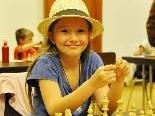 Alexa Nussbaumer holte die Silbermedaille bei den österreichischen Schach-Meisterschaften U8.