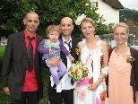 Anne Dornstetter und Alexander Gasperi heirateten.