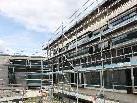 """Arbeiten Neubau Sozialzentrum """"Haus Klosterreben"""" per Juni 2011 - im Zeitplan"""
