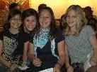 """Auch Kassandra, Nici, Christina & Lena von der HS Wolfurt waren bei der """"Selektissima"""" Abschlussfeier mit dabei"""