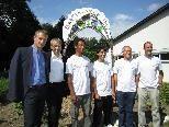 Bgm. Markus Linhart und LR Karlheinz Rüdisser eröffnen die GartenWerStadt