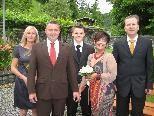Bijanka Plohl und Franz Reiner haben geheiratet.