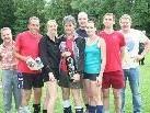 Das Siegerteam - die Kängarus aus Hard