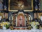 Das vom Hochaltar der Pfarrkirche St. Anton i. M. entwendete Kruzifix wurde durch ein anderes ersetzt.