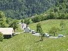 Der Konvoi in Richtung Tschengla