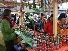 Der Kunst-Handwerk-Markt in Schwarzenberg hat sich zum Besuchermagnet entwickelt.