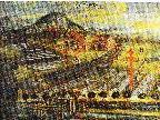 Der Meiniger Bleichehof auf einem Gemälde im Schattenburgmuseum