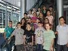 Die 4a-Klasse der VS Dornbirn-Haselstauden war zu Besuch im VMH.