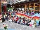 Die Bewohner im VorderlandHus freuten sich ganz besonders über den lieben Besuch der Volksschüler aus Röthis.