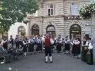 Die Musikvereine Gurtis und Bürserberg traten gemeinsam auf.