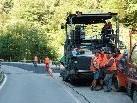 Die Sanierung der Silbertalerstraße läuft noch voraussichtlich bis Ende Juli.