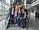 Die Schüler machten eine Exkursion zur den VN mit Führung durch das Medienhaus.