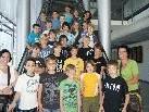Die vierten Schulstufen der VS Büze aus Wolfurt zu Besuch im Medienhaus.