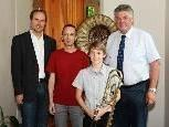 Dir. Thomas Greiner, Markus Malin, Thomas Burgstaller  u. Bgm. Mandi Katzenmayer