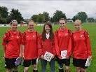 FC Sulz Quintett beim Länderspiel in Fussach