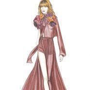 Florence trägt auf ihrer Tour Gucci