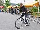Frischen Wind ins Zweiradgeschehen bringt das elektrounterstützte Fahrrad.
