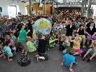 In der inatura wurden die Schülerprojekte mit einem Umweltfest gefeiert.