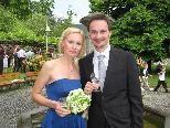 Karin Spiess und Markus Kopf heirateten