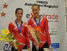 Katharina Kühne und Nadine Mörth holten in Höchst Bronze