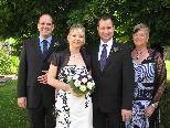 Louisa Friedl und Harald Peter heirateten.