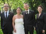 Manuela Ulmer und Peter Salzgeber gaben sich das Eheversprechen