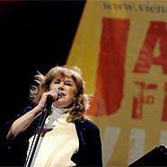 Marianne Faithfull wusste beim Jazz Fest zu begeistern.