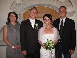 Marion Mathis und Enrico Martinez heirateten.