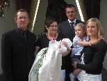 Mia Bischof wurde in der Pfarrkirche getauft