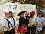 Mit musikalischen Einlagen begeisterten die Kinder der VS Leopold beim großen Schulabschlussfest.