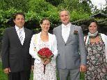 Monika Postai und Robert Ritter heirateten.