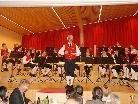 Musikverein Schnepfau mit Kapellmeister Hartwig Feuerstein