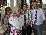 Rabea Eva Leidinger wurde in der St.Martinskirche getauft