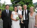 Sabine Theissl und Nobi Lorber heirateten