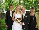 Silke Tschabrun und Torsten Breese heirateten