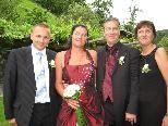Sonja Hagen und Sander Anneveldt heirateten.