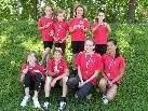 Stolz zeigen die Leichtathleten der TS Bregenz-Vorkloster ihre Medaillen   TS Bregenz-Vorkloster