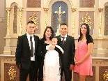 Taufe von Kevin Noel Rohner
