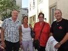 (v.l.) Thomas, Bernadette, Petra und Karlheinz.