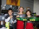Beim Kindercafe können sogar die Jüngsten ganz groß servieren
