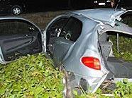 Der Verkehrsunfall bei Himberg forderte zwei Todesopfer.