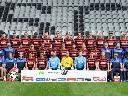 Die Mannschaft des SC Freiburg