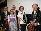 Die Musikanten sorgten für Begeisterung im Bildsteiner Kultursaal.