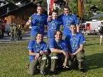 Die Wettkampfgruppe der Vandanser Feuerwehr belegte beim Nass-Leistungsbewerb im Silbertal den 13. Rang.