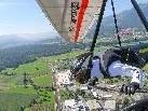 Drachenflieger über Gemeindegebiet Ludesch