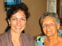 Evelyn Stoiser mit Margareta Bergauer