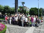 Feierten ihren 75. Geburtstag im Tessin: Die Götzner JahrgängerInnen 1936