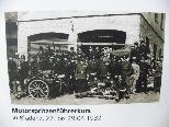 Freiwillige Mannschaft vor über 100 Jahren