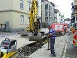 Leitungssanierungen in der Scheffelstraße